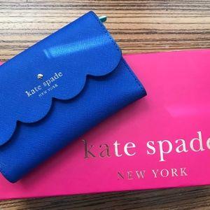 Kate Spade Red Wallet Lily Ave Kieran Tri-Fold